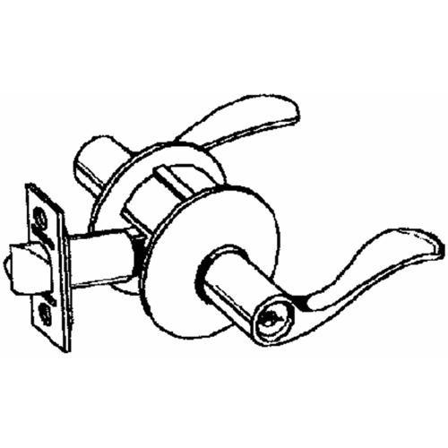 Schlage Lock Accent Box Lever Entry Lockset