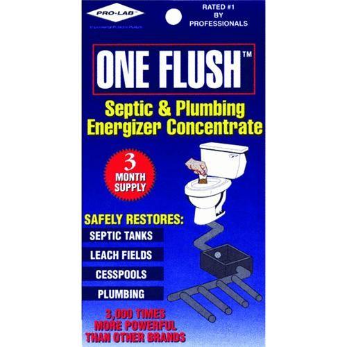 Pro Lab Inc. One Flush Septic Tank Treatment