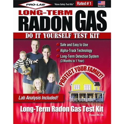 Pro Lab Inc. Long-term Radon Test Kit