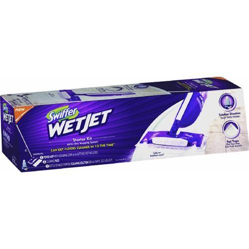 Procter & Gamble Swiffer WetJet Mop Starter Kit