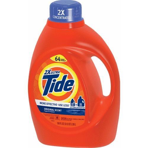 Procter & Gamble Tide Liquid Laundry Detergent 100 oz