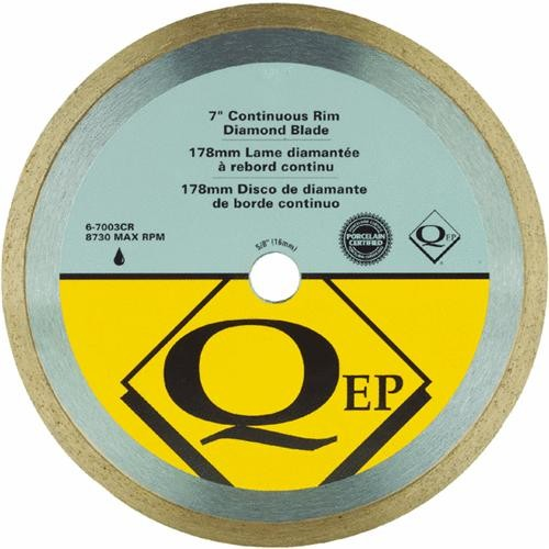 Q.E.P./Roberts QEP Continuous Rim Wet Diamond Tile Saw Blade