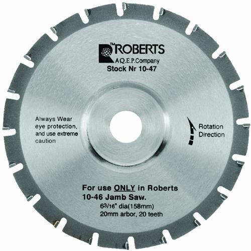 Q.E.P./Roberts Carbide Tip Jamb Saw Blade