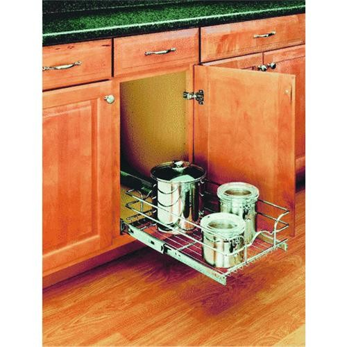 Rev a Shelf Rev-A-Shelf Single Pull-Out Cabinet Organizer