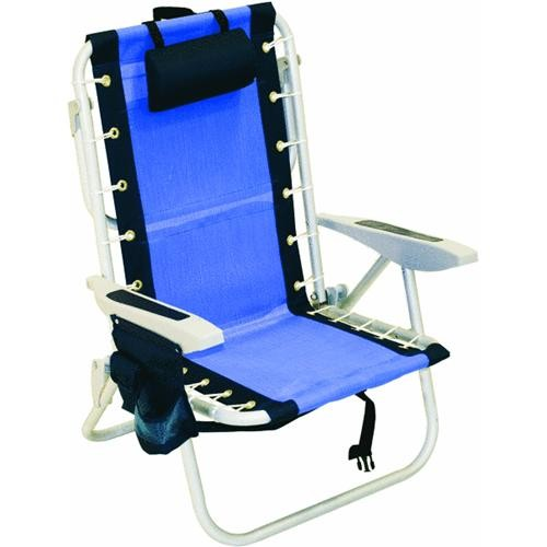 RIO Brands 5-Position Backpack Folding Chair
