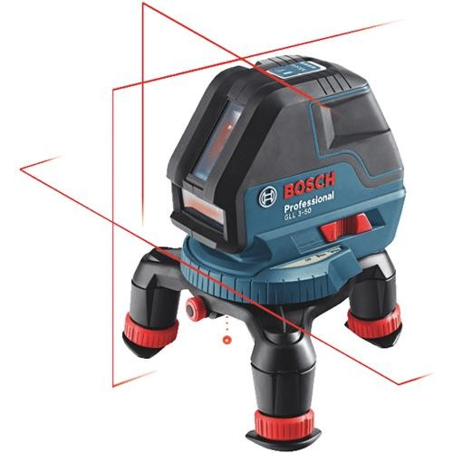 Robt. Bosch Tool Bosch 3-Line Laser Level with Layout Beam