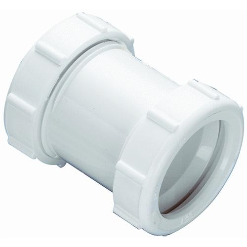 Plumb Pak/Keeney Mfg. Plastic Straight Double Slip-Joint Extension Coupling