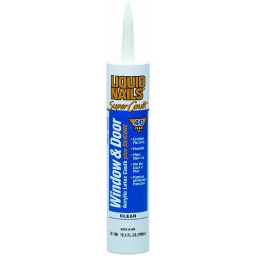 PPG Inc Liquid Nails LIQUID NAILS 35 Year Window & Door Acrylic Latex Caulk