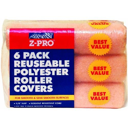 Premier Paint Roller LLC 6 Pack Knit Fabric Roller Cover