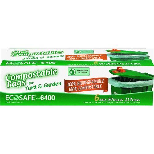 Presto Products Eco Safe-6400 Compostable Lawn & Leaf Bag