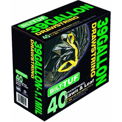 Presto Products Bilt-Tuf 39 Gallon Black Lawn And Leaf Bag