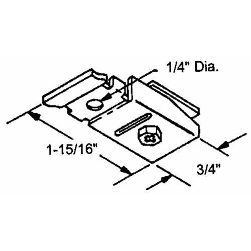 Prime Line Prod. Bi-Fold Door Pivot Bracket