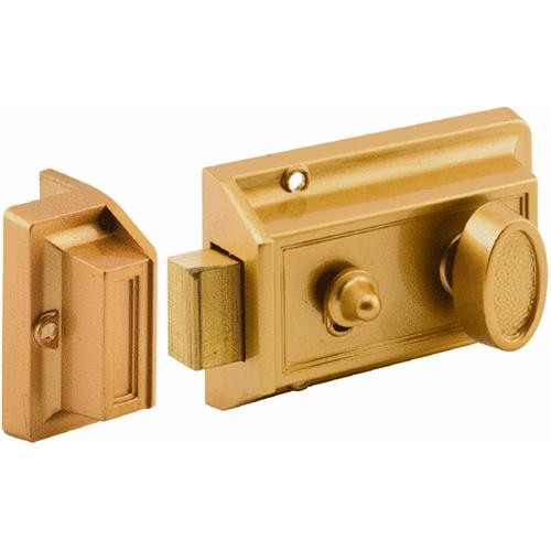 Prime Line Prod. Night Lock With Locking Cylinder