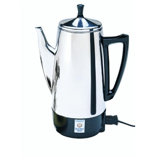 National Presto Presto Stainless Steel Coffee Percolator
