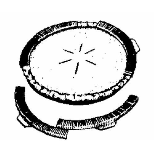 Norpro Pie Crust Shield Set