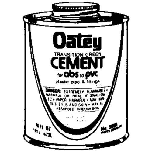Oatey ABS PVC Transition Cement