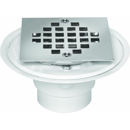 Oatey Square Tile Shower Drain With Strainer