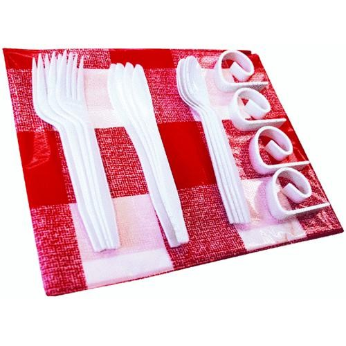 Onward Manufacturing GrillPro Tablecloth And Clips