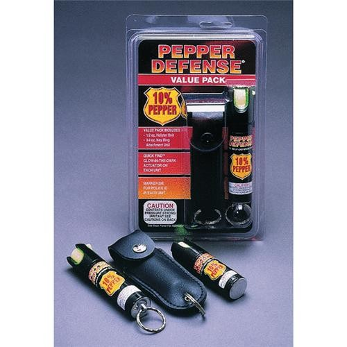 Personal Safety Corp. Pepper Self-Defense Spray Value Pak