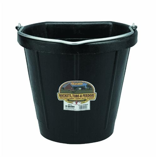 Miller Mfg. Rubber Flat Back Bucket