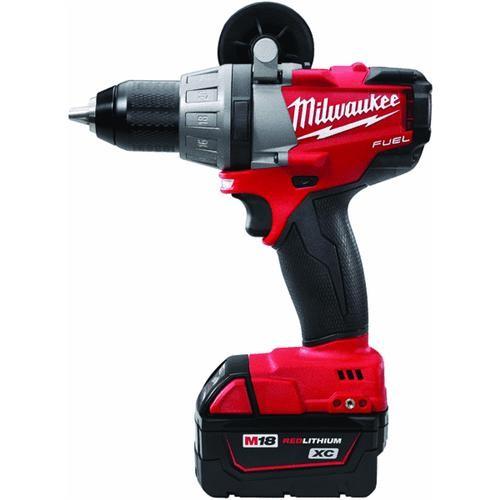 Milwaukee Elec.Tool Milwaukee M18 FUEL XC Brushless Lithium-Ion Cordless Drill Kit