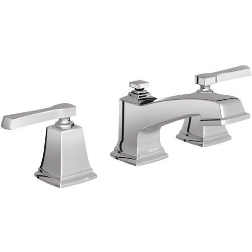 Moen Inc Moen Boardwalk 2-Handle 8 In. To 16 In. Widespread Bathroom Faucet With Pop-Up