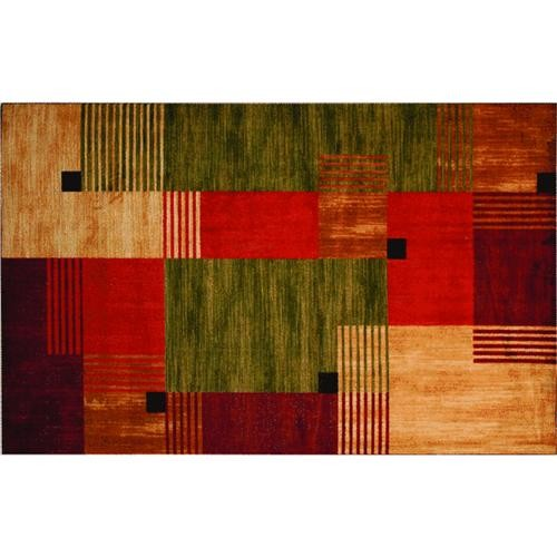 Mohawk Home Products Free Form Box Print Rug