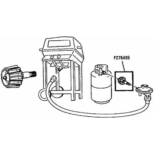 Mr. Heater Appliance End Fitting