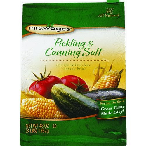 Mrs. Wages Mrs. Wages Canning & Pickling Mix Salt