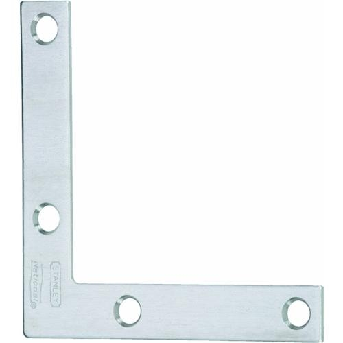 National Mfg. Stainless Steel Flat Corner Brace