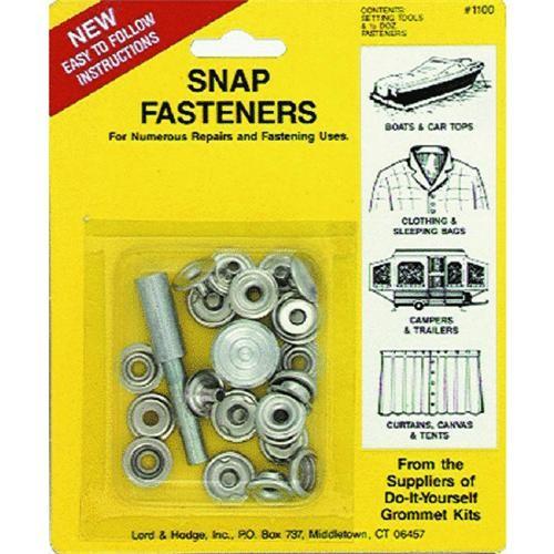 Lord & Hodge Snap Fastener Kit