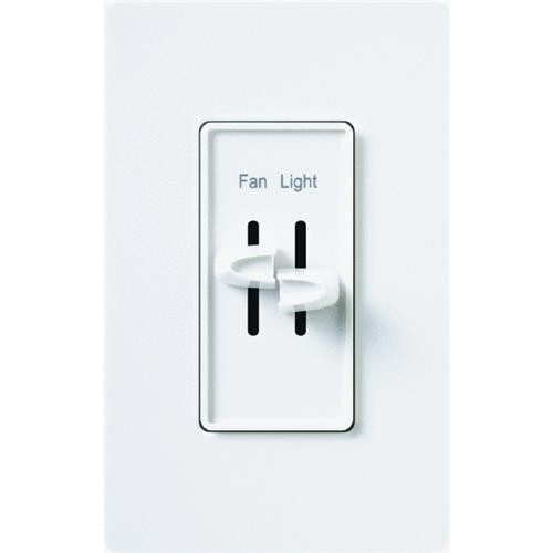 Lutron Fan and Light Slide Dimmer Switch