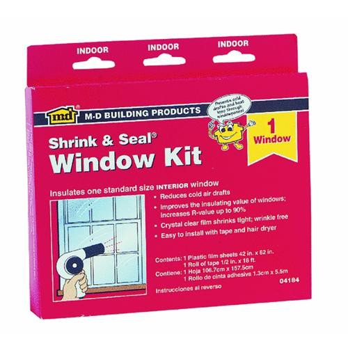 M-D Building Products Shrink and Seal Window Insulation Kit