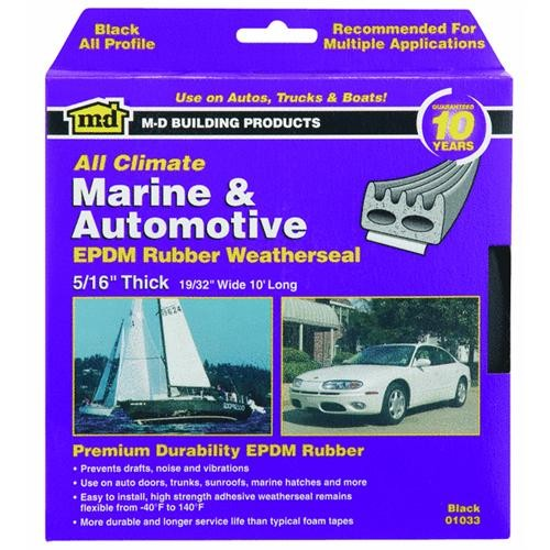 M-D Building Products M-D All-Profile Extreme Temperature Auto & Marine Weatherstrip