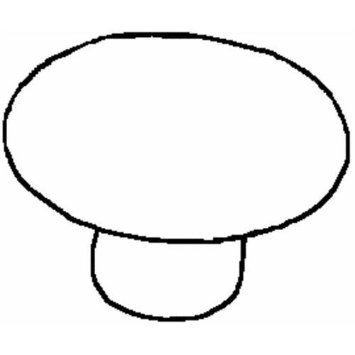 Laurey  Co. Ceramic Round Cabinet Knob