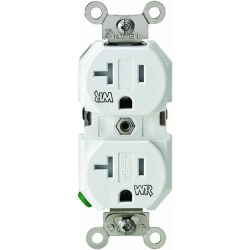 Leviton Tamper Weather-Resistant Grounded Duplex Outlet