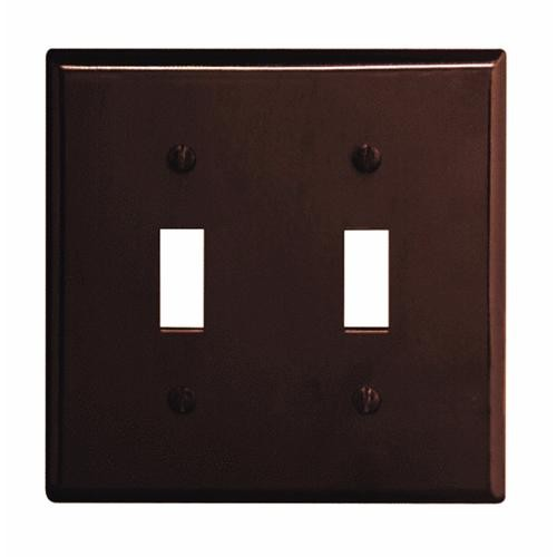 Leviton Plastic Double Switch Wall Plate