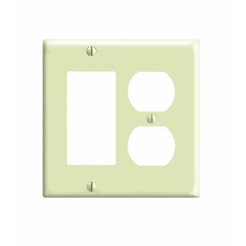 Leviton Standard Combination Wall Plate