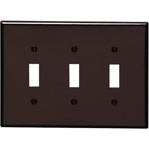 Leviton Plastic Mid-Way Switch Wall Plate