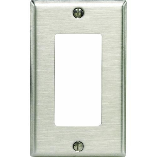 Leviton Stainless Steel Decorator Wall Plate