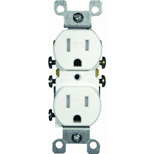 Leviton Tamper/Weather-Resistant Grounded Duplex Outlet