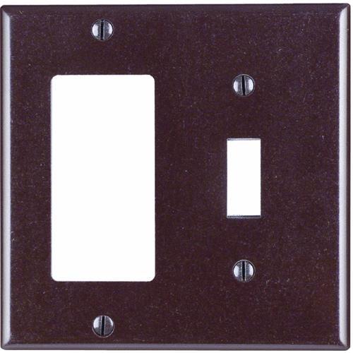 Leviton Rocker/Toggle Combination Wall Plate