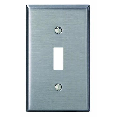 Leviton Stainless Steel Switch Wall Plate