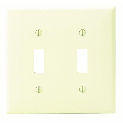 Leviton Nylon Double Switch Wall Plate