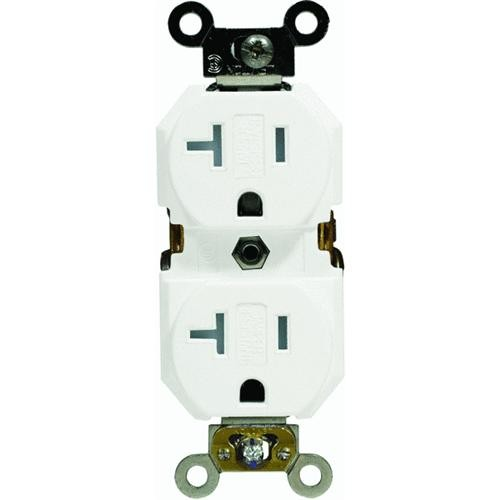 Leviton 20A Tamper-Resistant Grounded Duplex Outlet