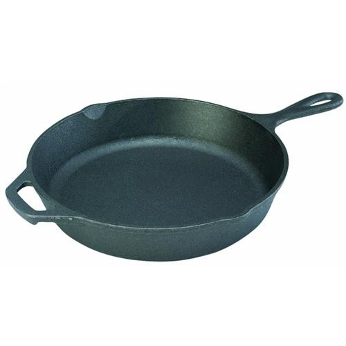 Lodge Mfg Co Lodge Logic Cast-Iron Skillet With Assist Handle