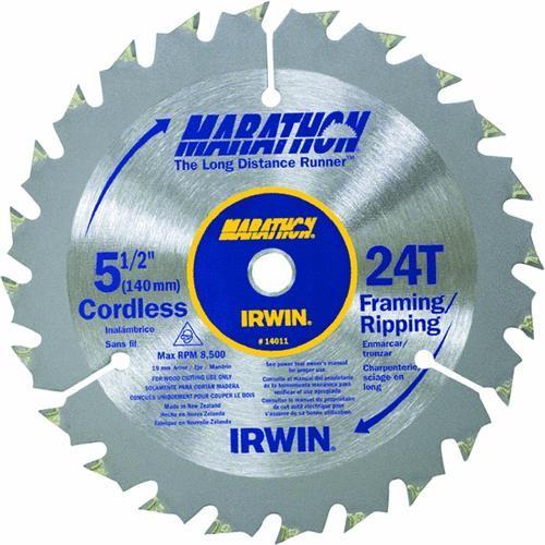 Irwin Irwin Marathon Carbide Tipped Circular Saw Blade