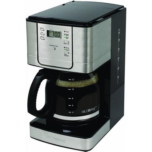 Jarden Consumer Solutions Mr. Coffee 12 Cup Stainless Steel Programmable Coffeemaker