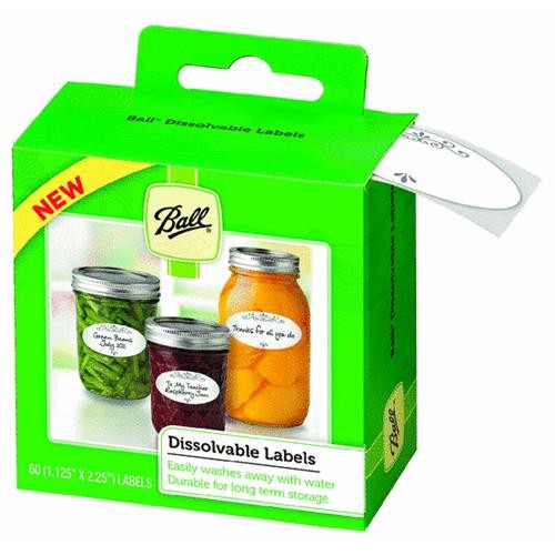 Jarden Home Brands Ball Dissolvable Jar Label