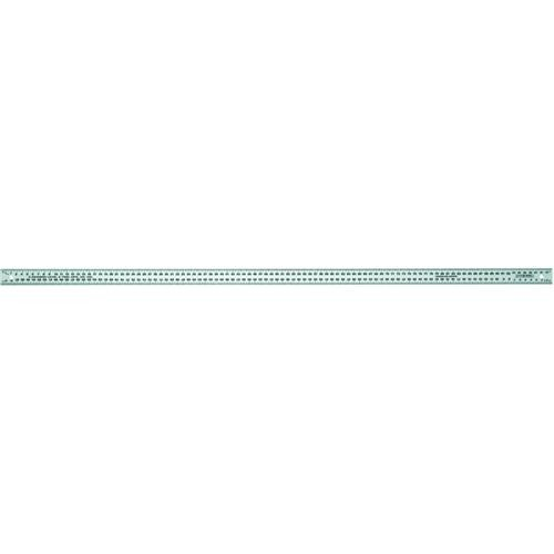 Johnson Level Aluminum Meterstick Straight Edge Rule